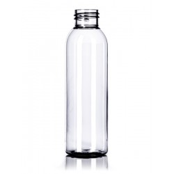 4 oz Clear PET Cosmo Round Bottle - 50/case ($0.50 each, discounts for high volume orders)