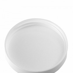53-400 Smooth White Cap with Pressure Sensitive Liner - 1300 caps/case ($0.17 each, Discounts for high order quantities)