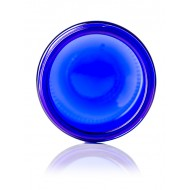 2oz Cobalt Blue Glass Jar - 42 jars/tray ($0.785 each, discounts for case quantities) cost includes shipping
