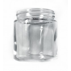 3oz Clear Glass Jar with Child Resistant Cap - 100 jars/case (as low as $0.66/jar)