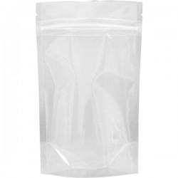 """5""""x8.5""""x3"""" Clear Stand Up Pouches (25 per pack)"""