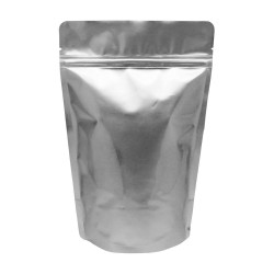 """5""""x8.5""""x3"""" Silver Stand Up Pouches"""